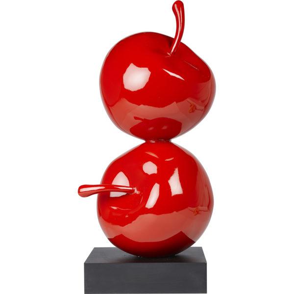 Dekoratif İkili Elma Kırmızı GRV G115