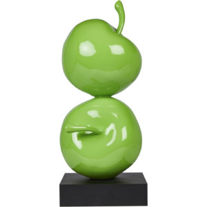 Dekoratif İkili Elma Yeşil GRV G115