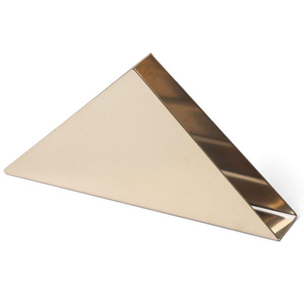 GRV 60 Üçgen Peçetelik Mat gold