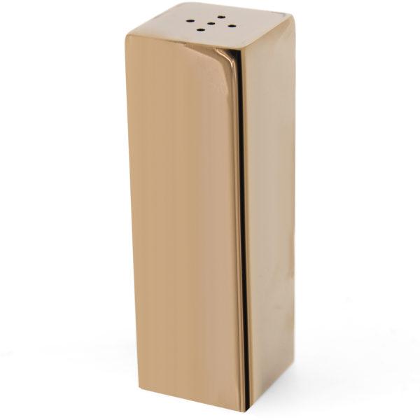 Tekli Kare Tuzluk Bakır Single Square Salt Shaker Copper Colored Grv 110 XL Bakır