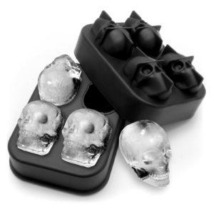dortlu Kafatası Silicon Buz Kalıbı 47X30 mm GRV 016